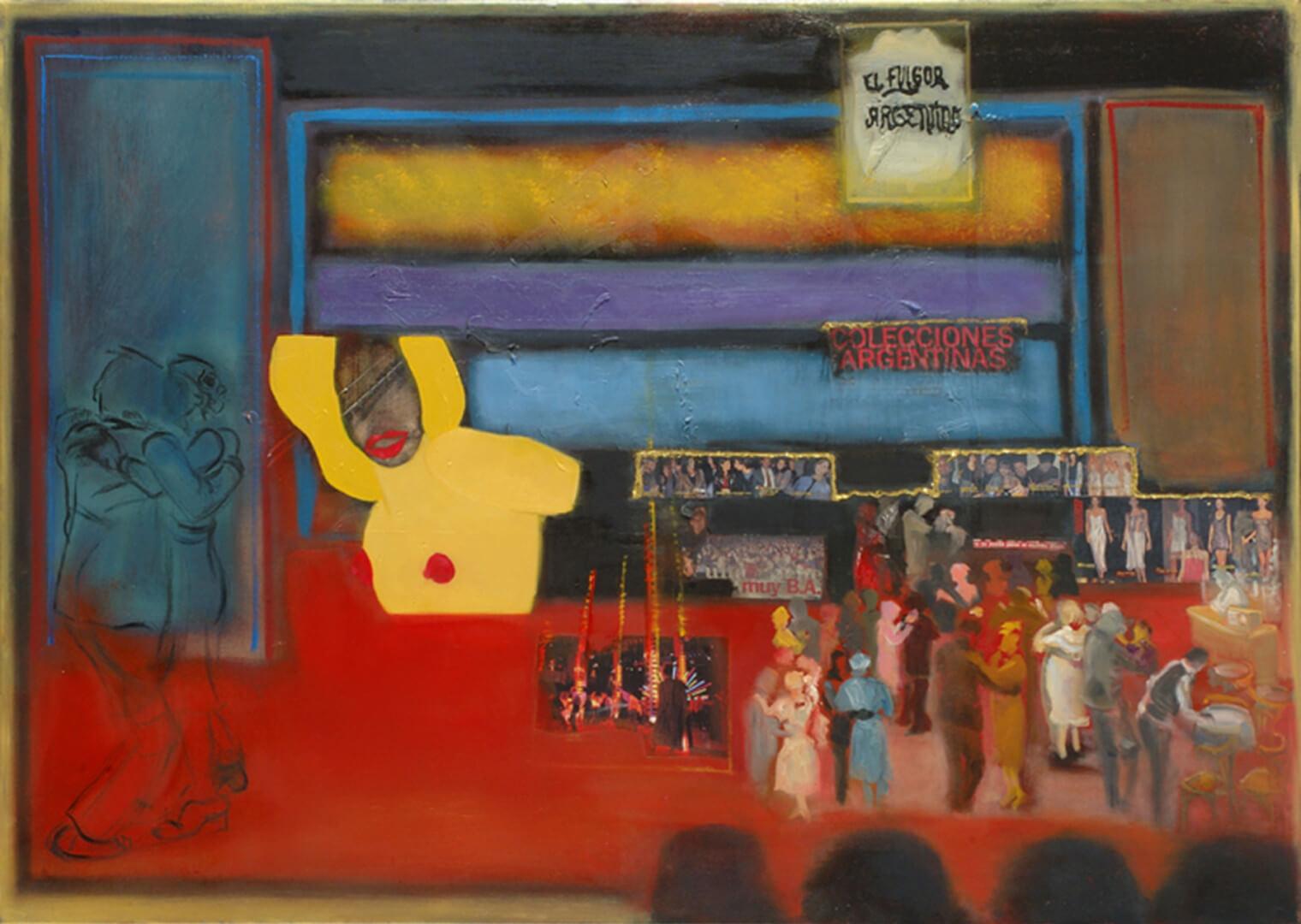 2004 - Oil on canvas. 120 cm. x 140 cm.