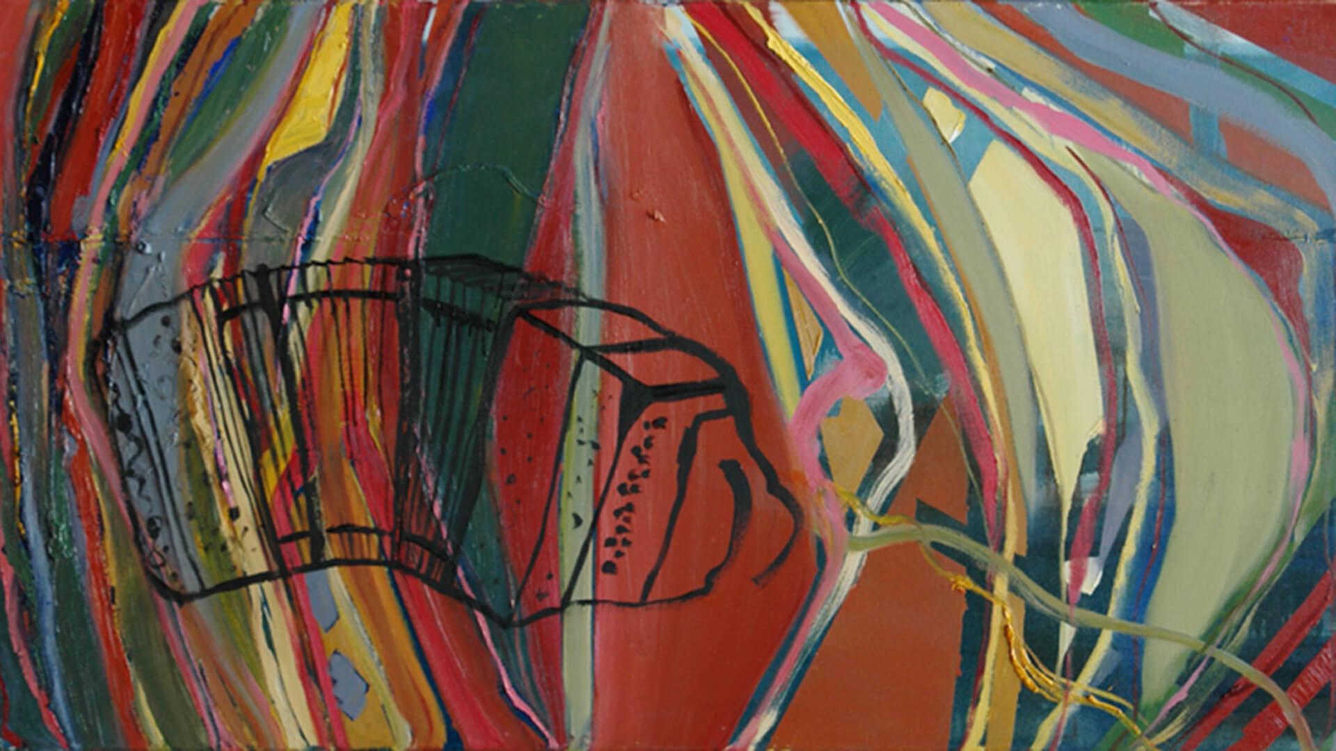 2007 - Oil on canvas. 70 cm. x 127 cm.