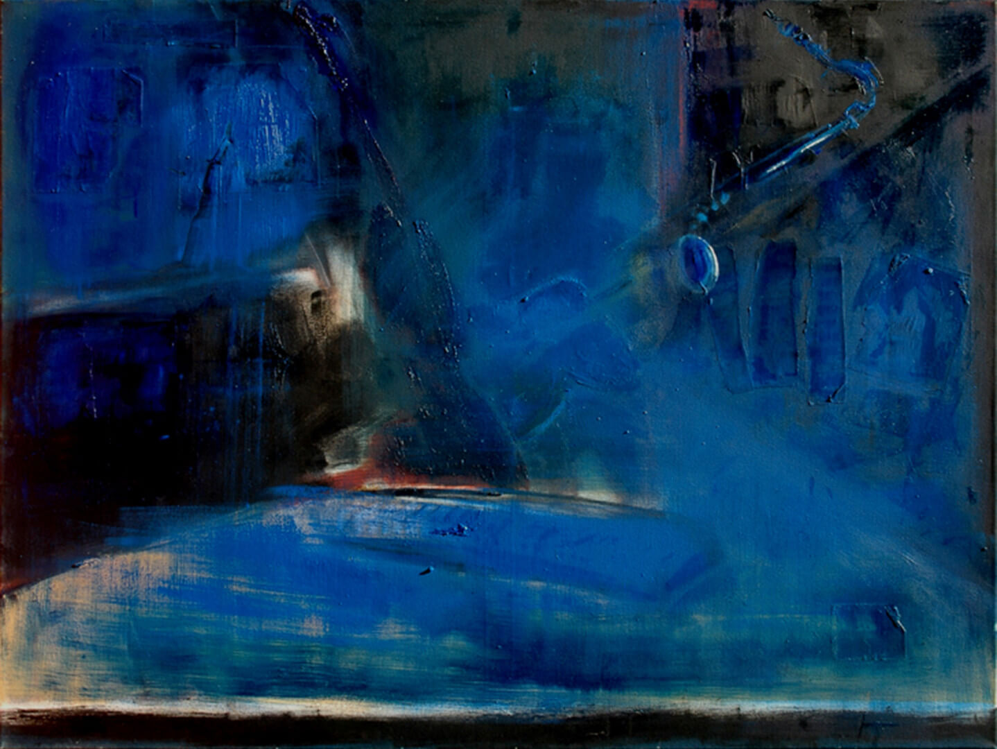 2004 - Oil on canvas. 120 cm. x 160 cm.