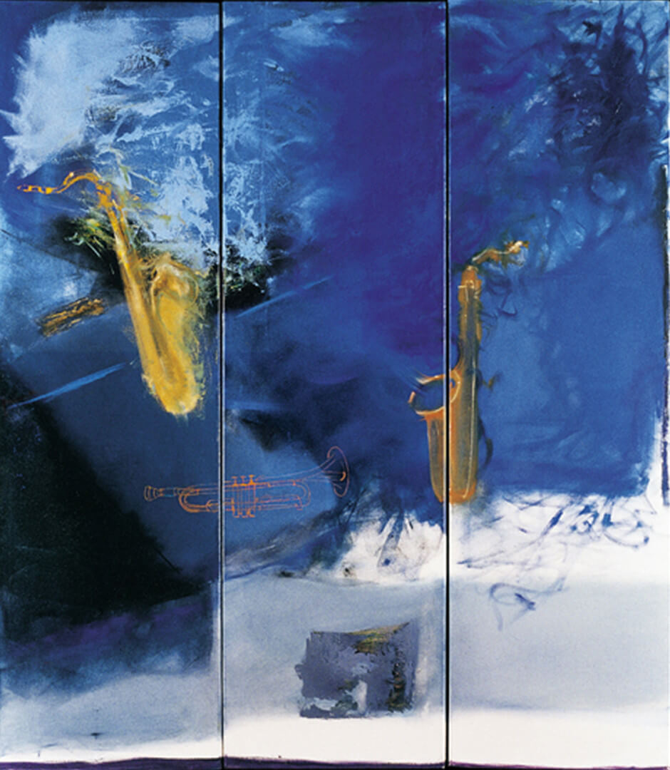 2004 - Oil on canvas. Triptych, 150 cm. x 150 cm.