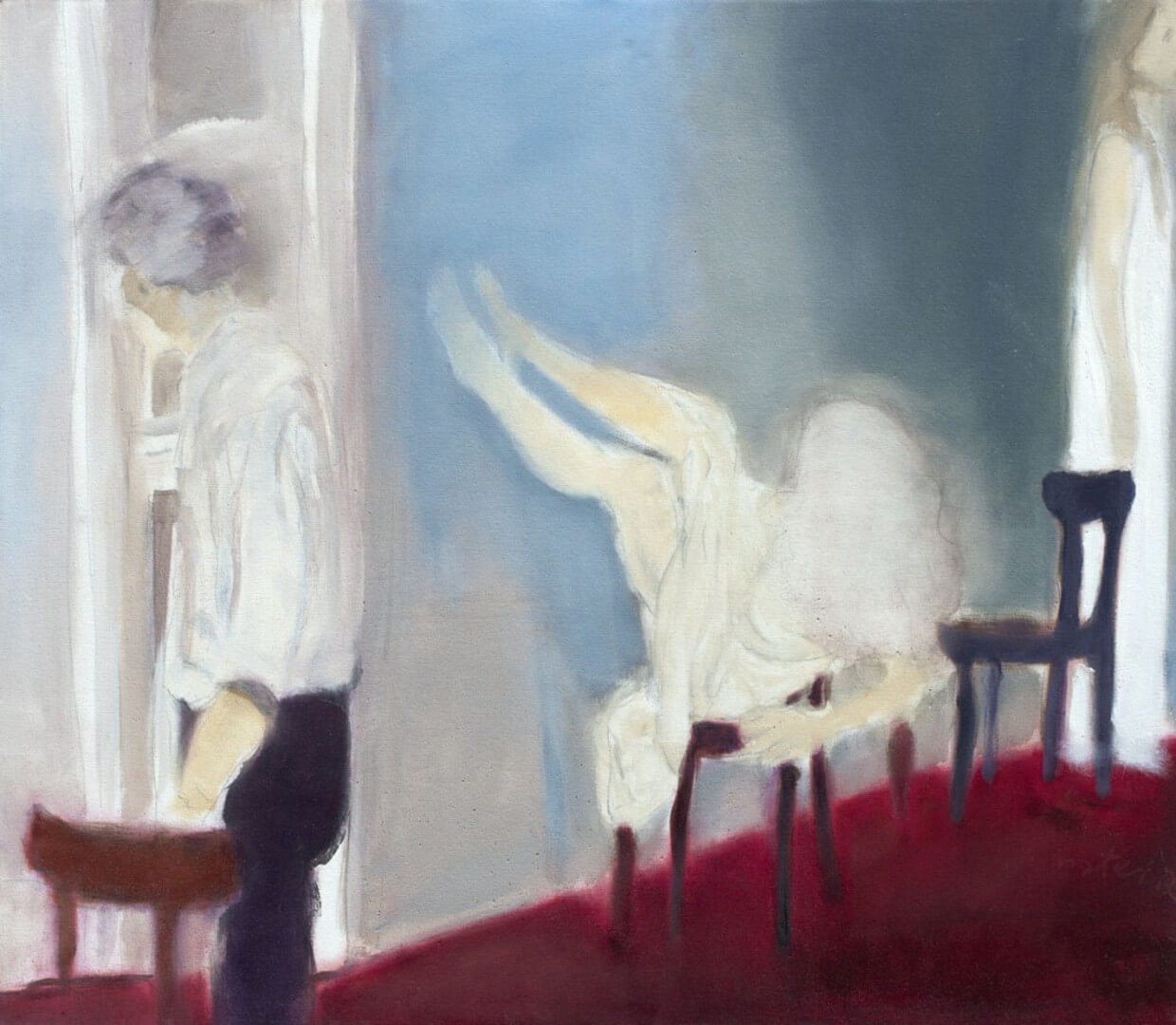 2011 - Oil on canvas. 120 cm. x 140 cm.