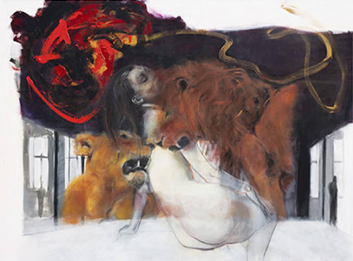 2012 - Acrylic on canvas. 150 cm. x 200 cm.