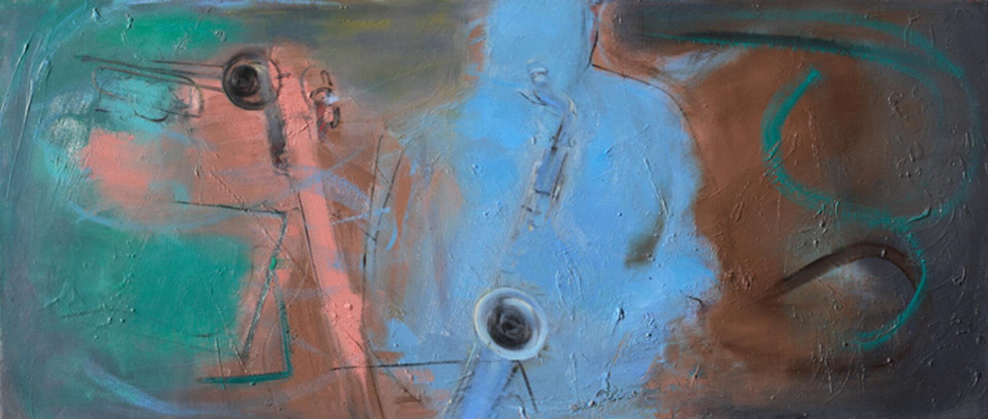 2004 - Oil on canvas. 60 cm. x 140 cm.