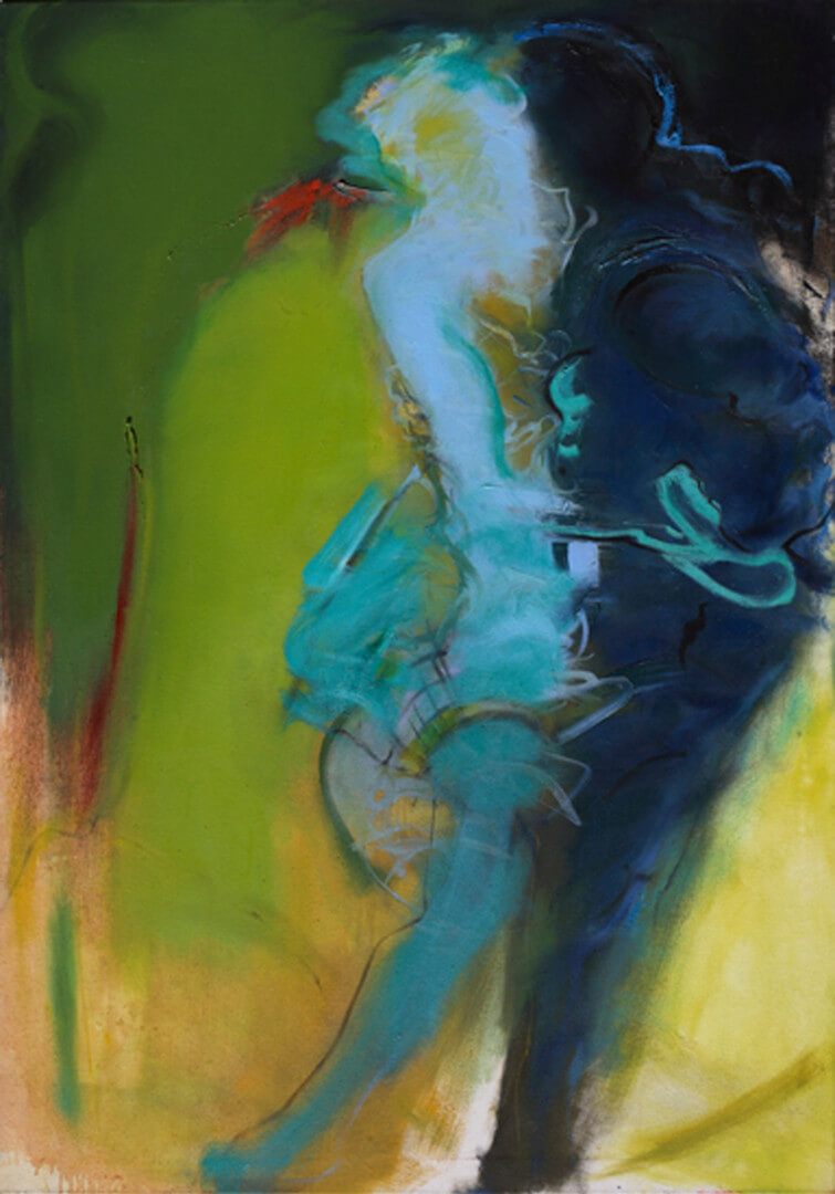 2007 - Oil on canvas. 120 cm. x 100 cm.