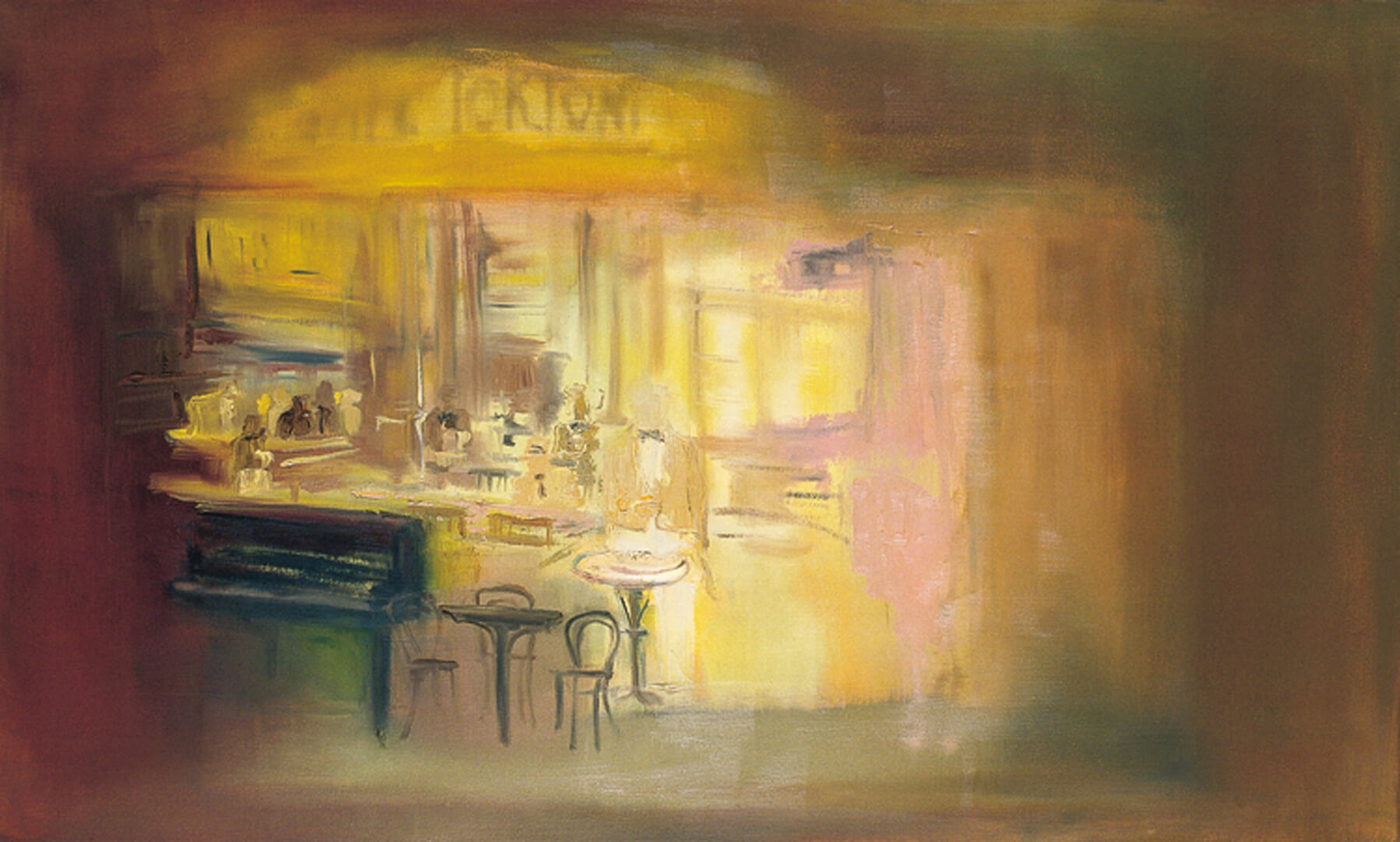 2007 - Oil on canvas. 70 cm. x 140 cm.