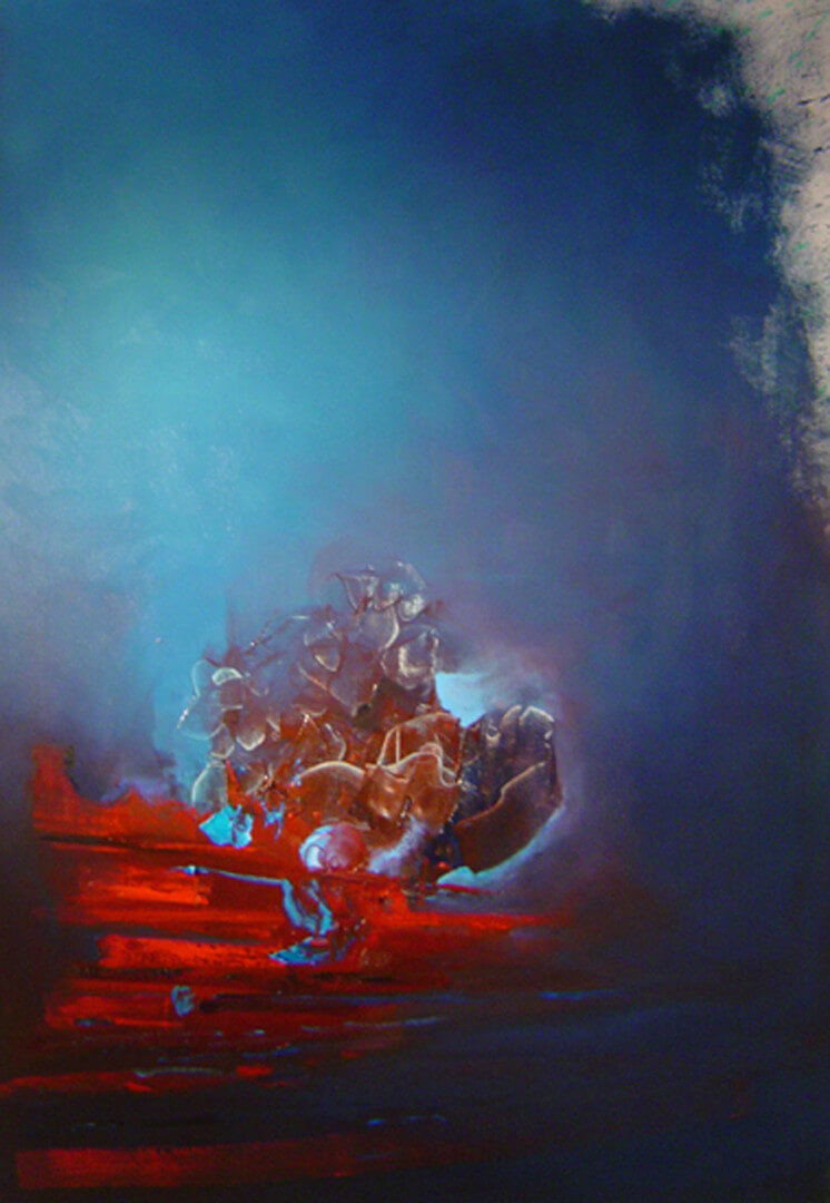 2005 - Oil on canvas. 150 cm. x 120 cm.
