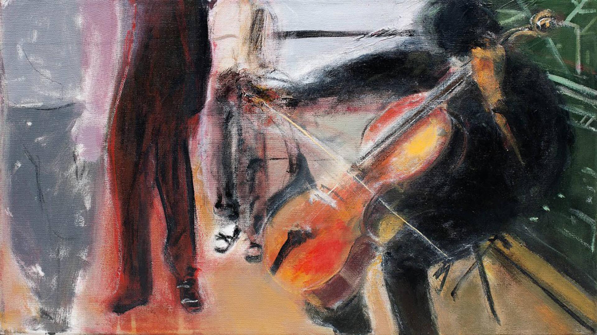 2012 - Mixed media on canvas. 40 cm. x 70 cm.
