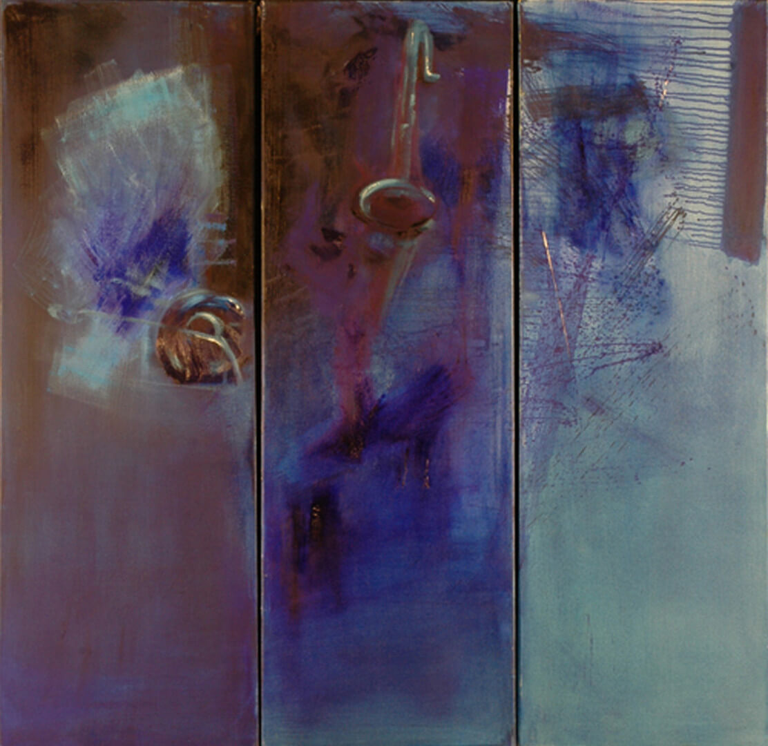 2004 - Oil on canvas. 120 cm. x 120 cm.