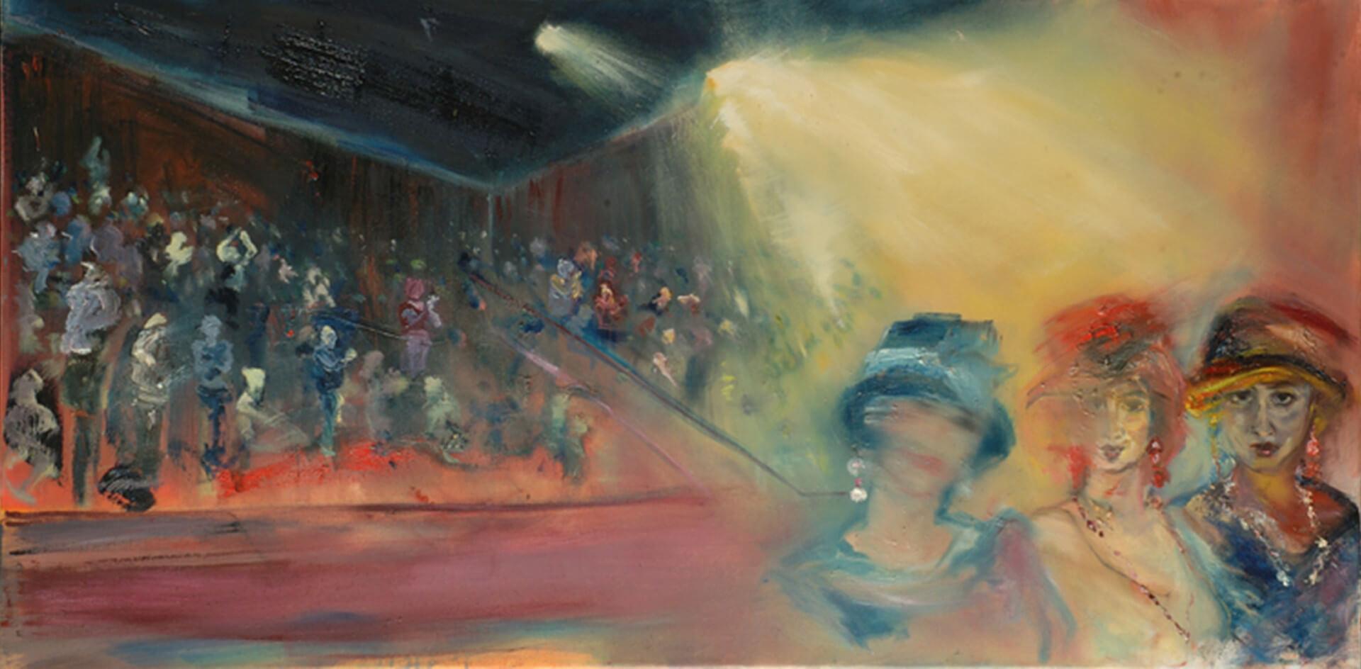 2004 - Oil on canvas. 80 cm. x 100 cm.