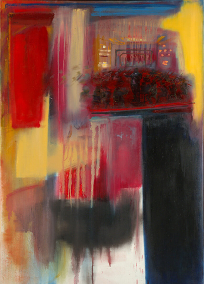 2006 - Oil on canvas. 140 cm. x 100 cm.