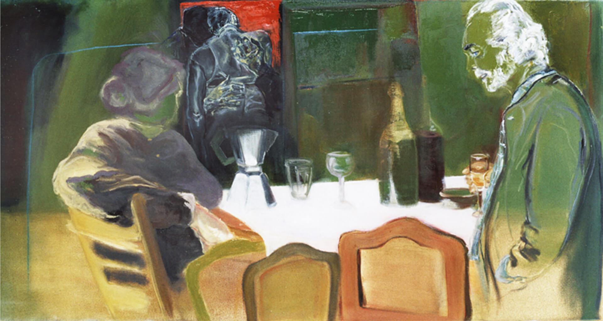 2007 - Oil on canvas. 70 cm. x 180 cm.